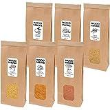 Wood Smoke Bois pour Fumage à Froid Parfait pour fumoir de Cuisine - 1 x 400 ML Olive, 1 x 400 ML Orange, 1 x 400 ML Amande,