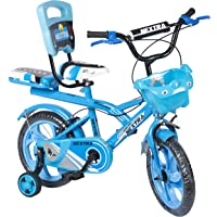 Speed Bird Baby Cycle 14-T Robust Double Seat Kids Bicycle for Boys & Girls - Age Group 3-6 Years (Sky Blue)
