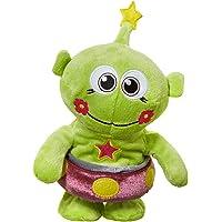 Hamleys Mands Alien Talk and Walk Soft Toy (Green)