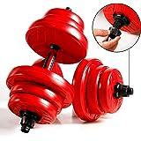 CCLIFE Hanteln Set 2er Kurzhanteln Hantel 20 30 40kg Hantelset professionell Dumbbell Gewichten