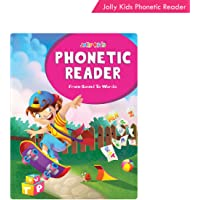 Jolly Kids Phonetic Readers from Sound to Words Book for Kids Ages 3-7 Years| Vowel & Consonants Sound | Sight Words…