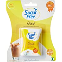 Sugarfree Gold Low Calorie Sweetner - 110 Pellets