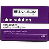 Bella Aurora Night Solution Bálsamo Nutritivo y Reparador Anti-Arrugas Crema Facial Hidratante de Noche Previene Aparición de