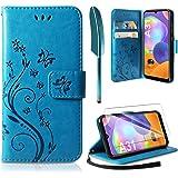 AROYI Samsung Galaxy A31 Case, Samsung Galaxy A31 Wallet Case PU Lederen Portemonnee met Kaartsleuven Stand Magnetische Sluit