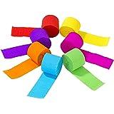 Talking Tables RAIN-STREAMER Banderoles en Papier Arc-en-Ciel (Pack de 7), Multicolore