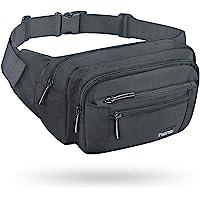 FREETOO Gürteltasche Bauchtasche Multifunktionale Hüfttasche mit Reißverschluss Geeignet für Reise Wanderung und Alle…
