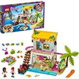 LEGO Friends CasasullaSpiaggia, Set di Costruzioni con Mini-doll di Andrea e Mia, Giocattoli per le Vacanze Estive, 41428