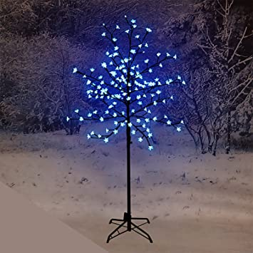 1.5M Pre Lit LED Cherry Blossom Tree With 150 Lights Outdoor / Indoor (