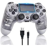 AETUHU Controller PS4 Gamepad Bluetooth wireless per Sony Playstation 4 con cavo USB Compatibile con PC Windows e…