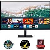 "Samsung Monitor M5 da 27"", 16:9, Full HD, Smart TV (Amazon Video, Netflix), Airplay e Mirroring, Office 365, Wireless Dex, Ca"