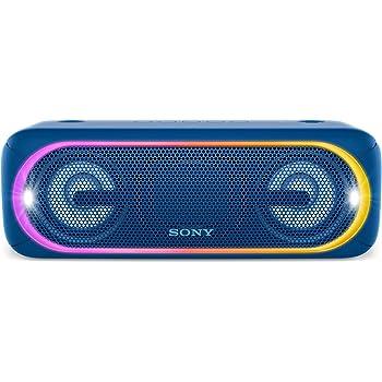 Sony SRS-XB40 Altoparlante Wireless Portatile, Extra Bass, Bluetooth, NFC, USB, Resistente all'Acqua IPX5, Blu