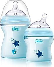 Chicco NaturalFit Colorific Bottle Slow Flow, Blue