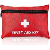 Tenquan Small Erste-Hilfe-Set, 100 Stück Inklusive Alkohol-Zubereitungstücher Goldfoliendecke, CPR-Gesichtsmaske Ideal…