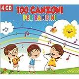 4 CD 100 Canzoni Per Bambini, Canzoni Indimenticabili, Il coccodrillo Come Fa?, le Tagliatelle di Nonna Pina, La Canzone…