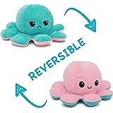 KAPTIUM Pulpo Reversible Prime, Pulpito Reversible, Pulpo Peluche Reversible, Pulpos Reversibles Peluche, Pulpo TIK Tok, Rosa