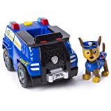 PAW Patrol — Chase's Transforming Police Cruiser with Flip-open Megaphone, for Ages 3 and Up