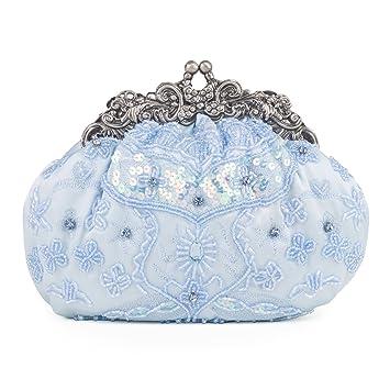Satin Frame Bag - Light Blue Y3joJovy