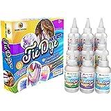 Desire Deluxe - Kit de tintes de 9 Colores para teñir Tela y Ropa Tie Dye Kit - Actividad Creativa y artística para niños y A
