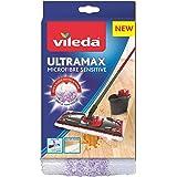 Vileda Recharge Ultramax Sensitive Spécial Parquet, Blanc, 1 Unité