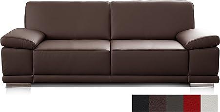 Cavadore Leder  Und Kunstledersofas Corianne/Hochwertige Sofas Mit Modernem  Design/mit Armteilverstellung/
