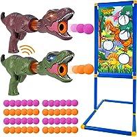 Tacobear Tiro al Bersaglio Bambini Pistola Giocattolo Dinosauri Giocattolo Suono e Luce Pistola Nerf Bersaglio Nerf…