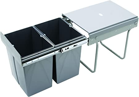 RECYCLE BIN PULL OUT KITCHEN WASTE BIN 400MM - 40 LTR (JC-602) by REJS:  Amazon.co.uk: Kitchen & Home