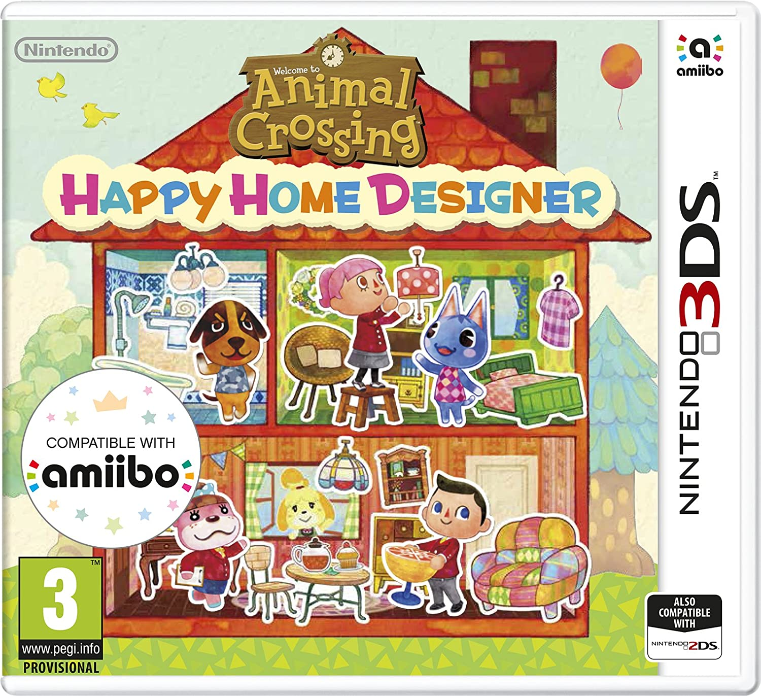 Animal Crossing Happy Home Designer Amazon Co Uk Pc Video Games