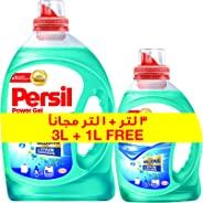 Persil High Foam Power Gel Top Load - Pack Of 2 Pieces (3 Liter + 1 Liter)