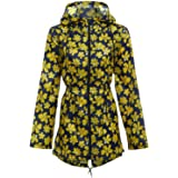Paradise Ladies RAIN MAC Womens Raincoat Kagool Festival Hooded Shower Parka Jacket BNWT