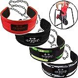 C.P.Sports Dip-Gürtel Standard G5-1, Gürtel für Zusätzliches Gewicht bei Klimmzügen & Dips