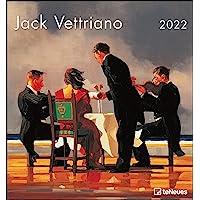 Jack Vettriano 2022 - Kunst-Kalender - Wand-Kalender - 45x48