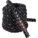 FOBUY Battle Rope Undulation Fitness Oefening,38mm,9M/12M/15M