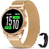 GOKOO Smartwatch Orologio Fitness Uomo Donna con Cardiofrequenzimetro Polso Sport Pedometro Smart Watch Activity Tracker Comp