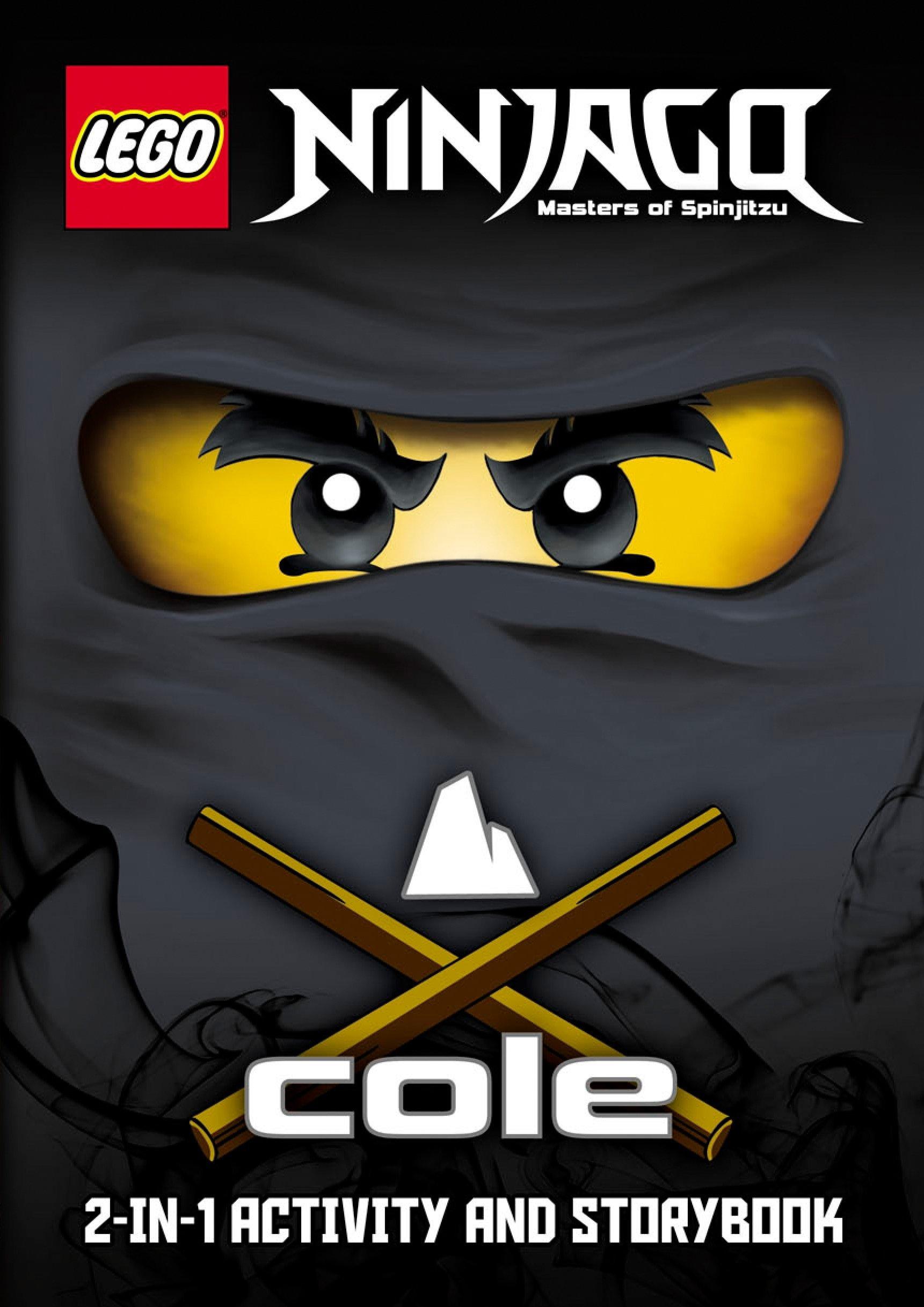 LEGO Ninjago: Cole/Jay 2-in-1 Ninja Handbook 1 spesavip