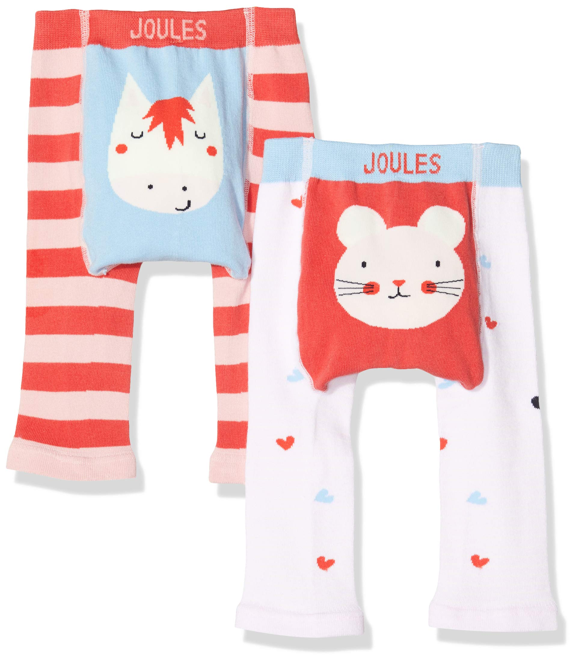 Joules Lively Leggings para Bebés, (Pack de 2) 2