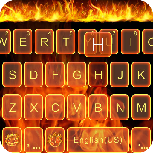 Fire Theme for Kika Keyboard