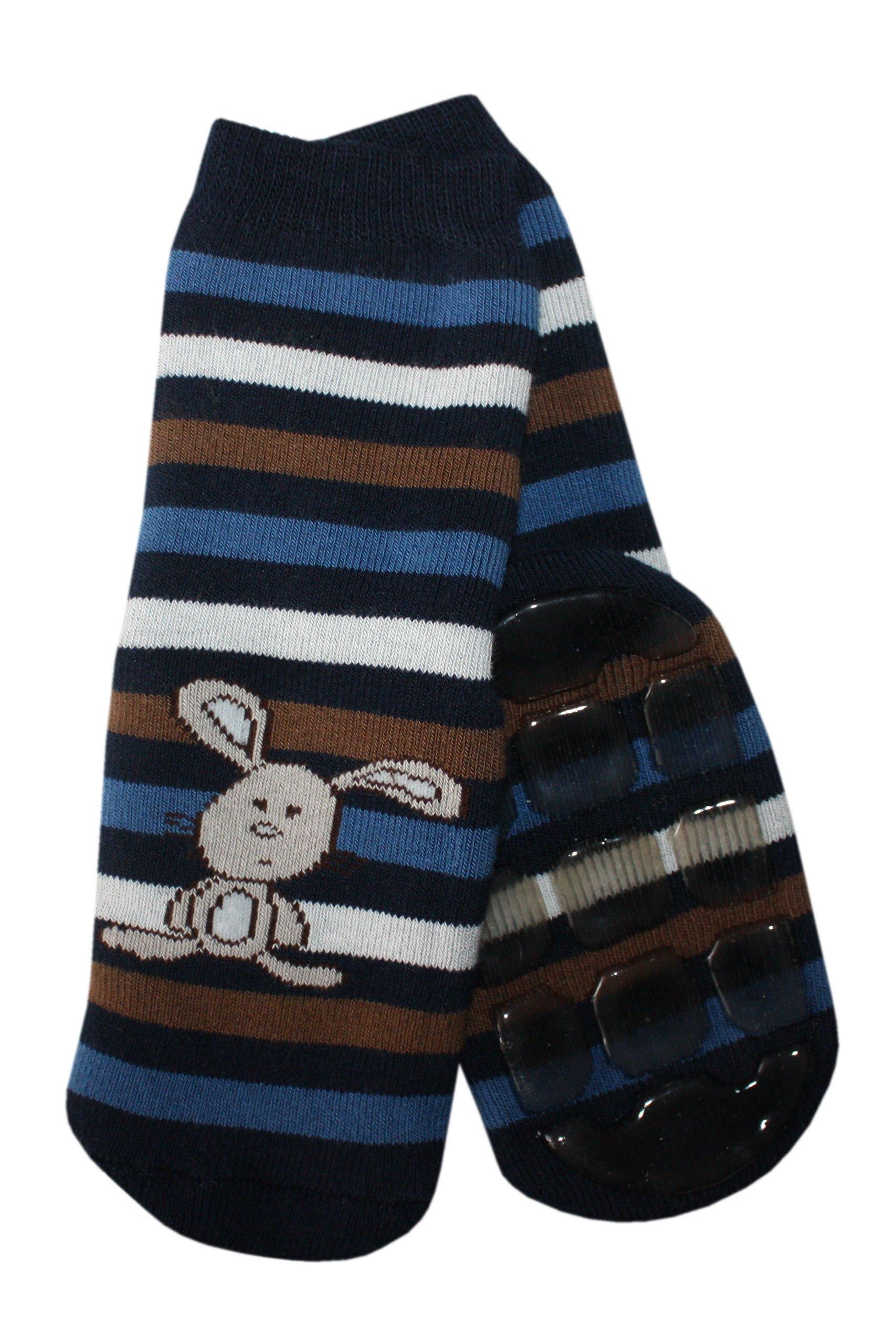para mayor sujeci/ón en las rodillas dise/ño de conejo ABS con protecci/ón de rodilla extragrande Medias antideslizantes para beb/é Weri Spezials