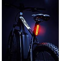 FISCHER Batterie LED Rückleuchte, Rücklicht Fahrrad, Fahrradbeleuchtung, Fahrradrücklicht