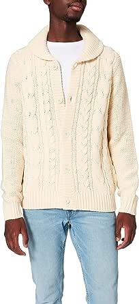 Amazon Brand - find. Men's Shawl Collar Cardigan