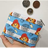Coin Purse - Blue Paddington Bear purse with a zip. Cute little coin purse/perfect for Mother's day/gift/present