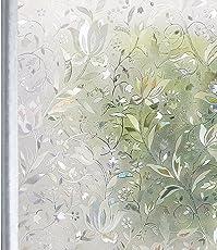 Homein Fenster Folien Spiegelfolie Klebefolie Fensterfolie Für Sichtschutz Tattoo Blickdicht Vintage Haftend