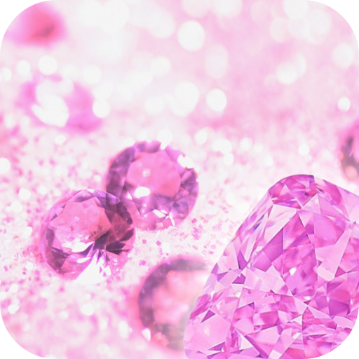Pink Diamond Wallpaper: Pink Diamonds Live Wallpaper: Amazon.co.uk: Appstore For