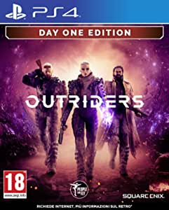 Outriders - Day One Edition - PlayStation 4