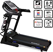 Fitkit FT063 Series Auto Incline Motorized Multi Functional Treadmill with Free Dietitian, Personal Trainer, Doctor, Consult