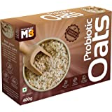 MuscleBlaze Probiotic Oats, Good For Gut Health, Healthy Breakfast Cereal For Adults, 400 grams