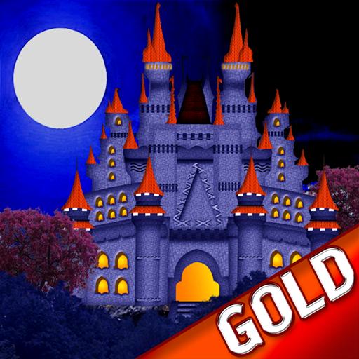 Horror-Geistergruselgeschichten: die erschreckende Dunkelparanormale Burg - Gold Edition