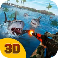 Shark Attack: Safari Hunting 3D | Underwater Hunting Ocean Predator Simulator Hungry Shark Wild Animal Hunter Survival Game