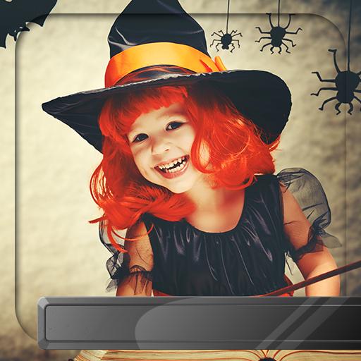 Halloween Foto-Editor (De Halloween-feste Fotos)