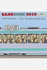 Bahnsinn! Der Pendlerkalender 2020: Postkartenkalender Kalender