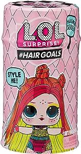 MGA Métamorphose L.O.L Hairgoals Vrais Cheveux et 15 Surprises série 2 Toy, 557067E7C